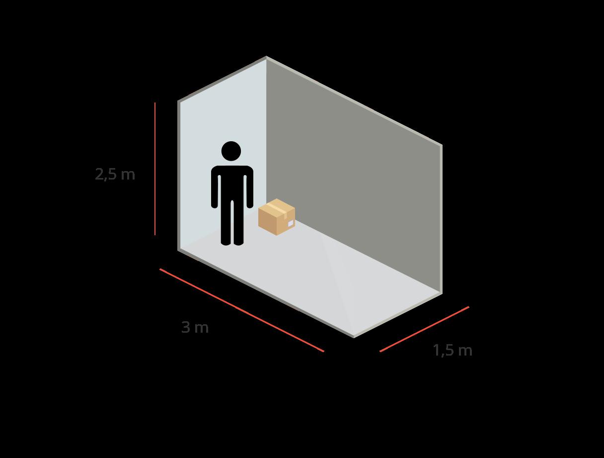 Bodega B1 - 12M³